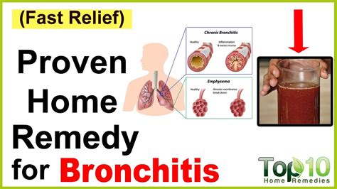 what is a home remedy for a bronchitis cough