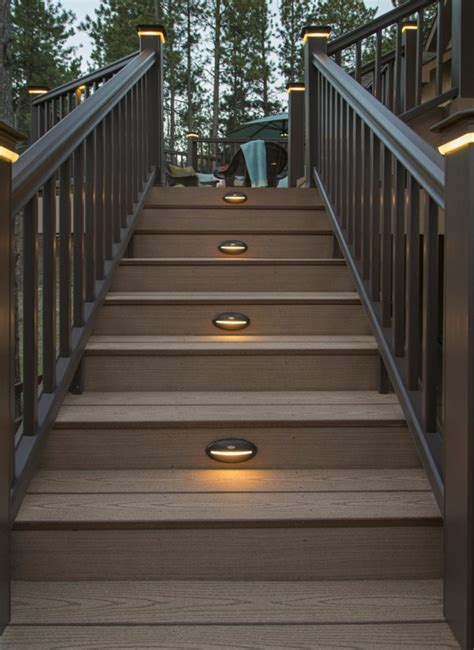 staircase christmas lights
