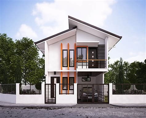 modern zen house design philippines simple small house 2 storey house design philippines floor plan with roof