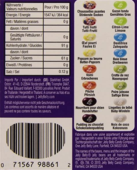 Jelly Belly Beanboozled Jelly Beans 3rd Edition jelly belly beanboozled jelly beans 3rd edition new