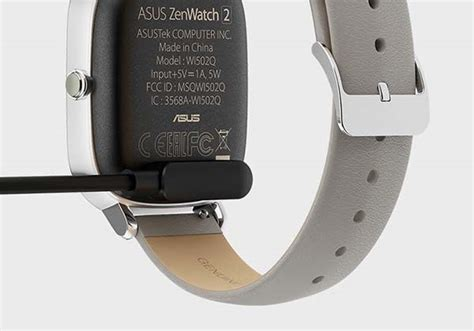 Charger Smartwatch Asus Zenwatch 2 asus zenwatch 2 smartwatch boasts crown button changeable straps and two sizes gadgetsin
