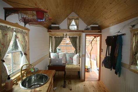 tumbleweed homes interior how one s tiny was born from panhandling scraping pennies and determination