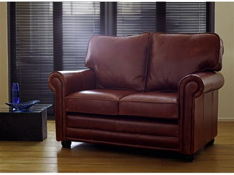 Traditional Leather Sofas Traditional Leather Sofa The Lincoln From The Sofa Company