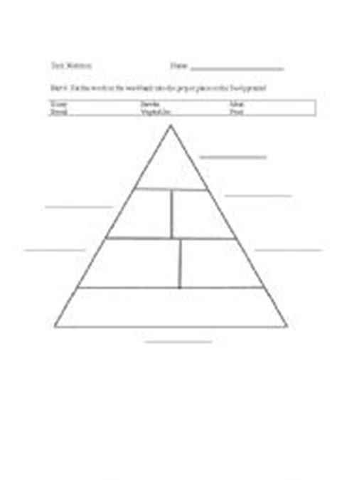 Beschriftung Pyramide by English Worksheets Food Pyramid
