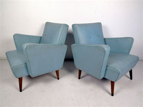 vinyl lounge chairs cheap pair of mid century modern vinyl lounge chairs in the