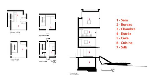 tadao ando 4x4 house plans the 4x4 house by tadao ando on behance