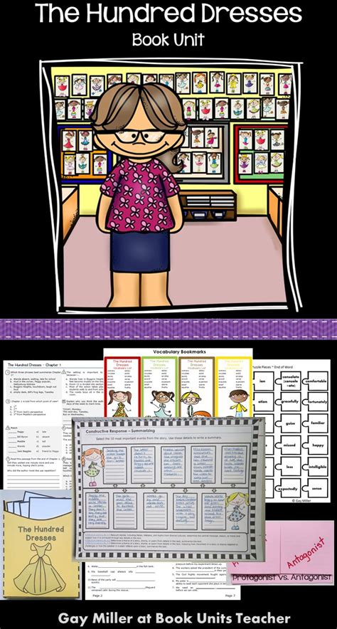 The Hundred Dresses Worksheets by 244 Best Great Books For 4th Graders Images On