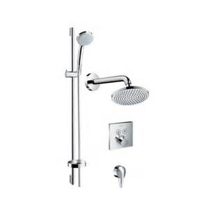 hansgrohe dusche hansgrohe croma shower system 4 omnia bathrooms ltd