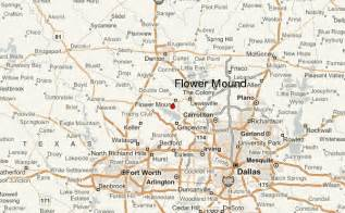 where is flower mound on the map flower mound location guide
