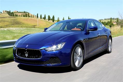 navy blue maserati 2013 maserati ghibli review evo