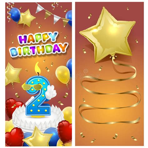illustrator birthday card template happy birthday vertical card template with gold sparkles