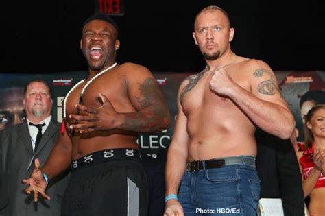 jarrell miller 304 pounds for johann duhaupas fight