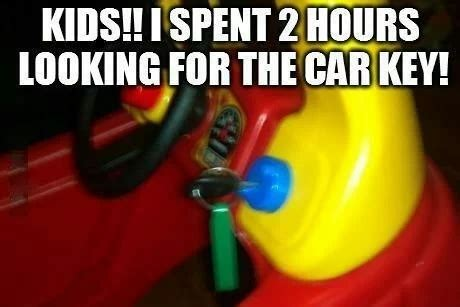 Car Keys Meme - lost car keys funny