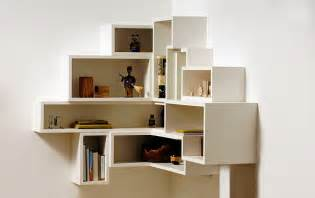 Floating Corner Box Bookcases » Ideas Home Design