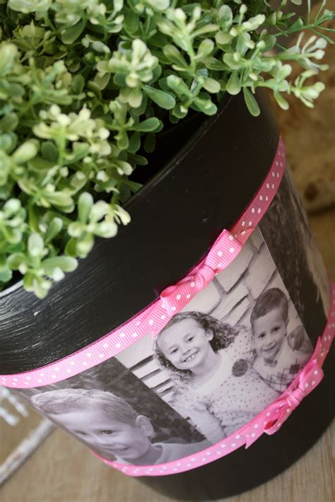 diy mod podge flower pot s day photo flower pot