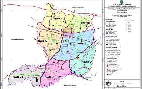 Peta Lipat Kota Cimahi sahabat perencana profil kota kota sukabumi