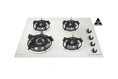goldline gas cooktop sale goldline gl704wz 4 burner gas cooktop enamel trivets