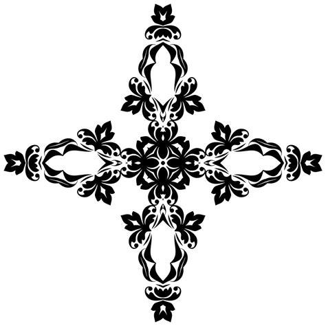 onlinelabels clip art ornamental cross