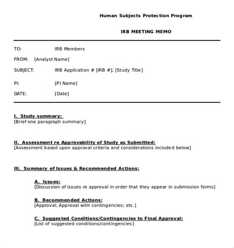 templates for memos 14 meeting memo templates free sle exle format