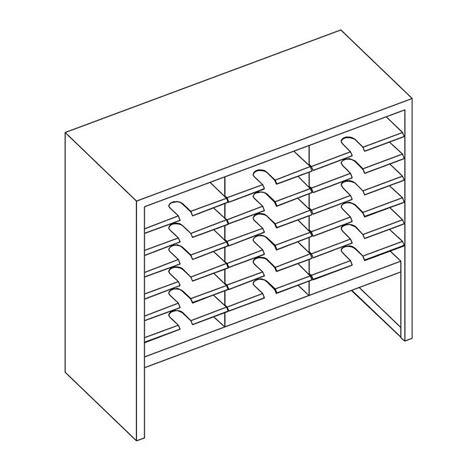 Special Desktop Storage Ukuran Besar 36 X 21 X 18 Meja Rias Laci Kosme mayline 36 quot w x 33 quot h x 15 quot d mailflow 9 quot elevated closed back sorter 21 compartments sc3633gl