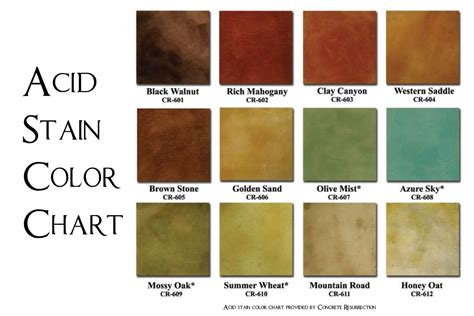 cement paint colors behr concrete stain colors concrete revival 20color