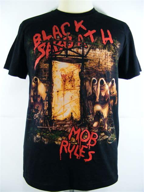 Kaos Black Sabbath Tshirt Musik Rock 1 seamless t shirt heavy metal rock band black sabbath