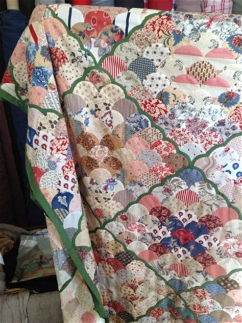 Patchwork On Central Park - 110 best clamshell quilt images on
