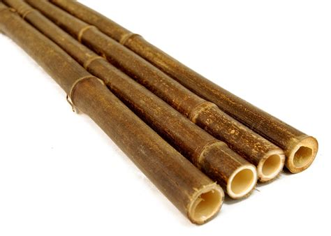Bamboo Herbal 1 25 quot x 8 bamboo poles black 10 poles