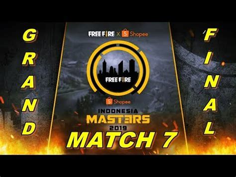 fire grand final indonesia masters match   maret