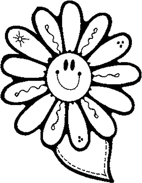 fun coloring pages clipart fun flower coloring pages color bros