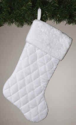 plain white christmas stockings christmas decore