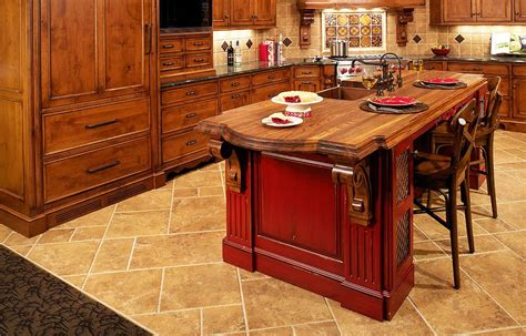 decorative custom built kitchen islands with wood