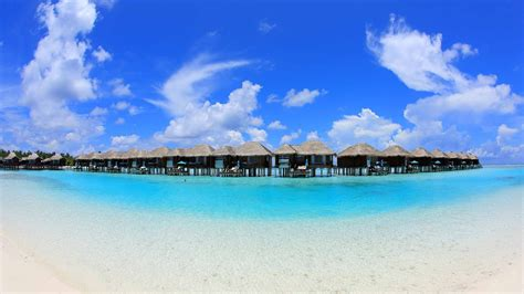 overwater bungalows mac wallpaper  allmacwallpaper