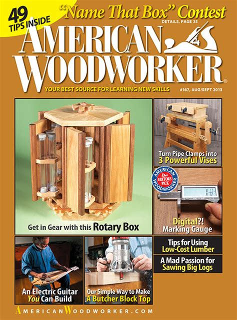 woodworking magazine subscription diy woodworking project