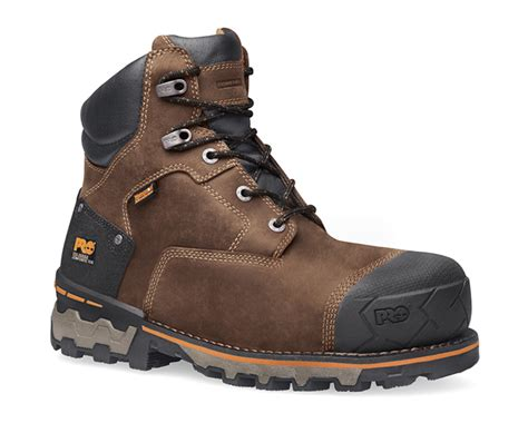 Sepatu Pichboy Boots 10 Brown Safety 4 boondock 6 quot composite safety toe work boot 92615 shoe works