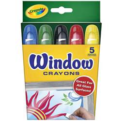 crayola colors save on discount crayola window crayons set of 5 more
