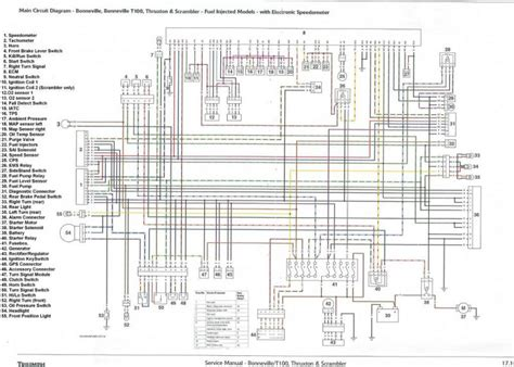efi wiring diagram triumph forum triumph rat motorcycle