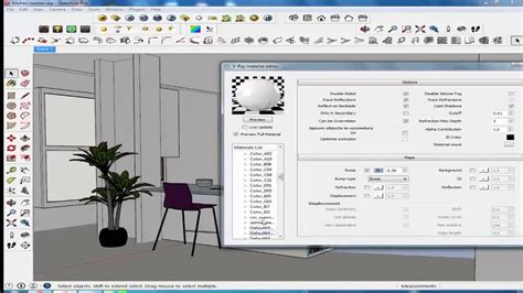 vray sketchup video tutorial part 1 vray lighting tutorial sketchup vray interior lighting 5