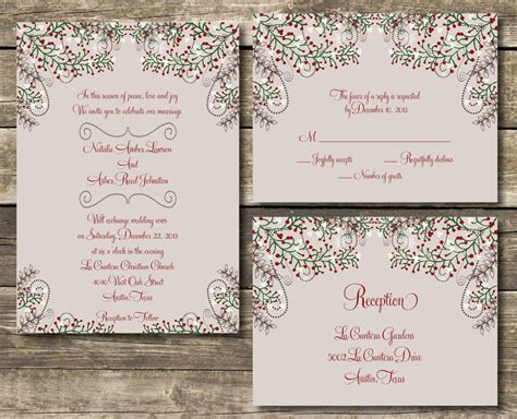 printable wedding invitation suites printable wedding invitation suite diy by magnoliapapersandco