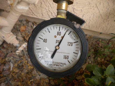 no water pressure in house water pressure system