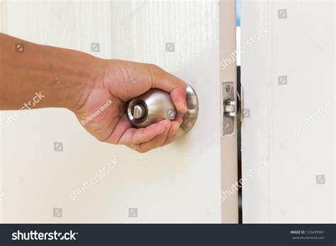 How To Open Door Knob by Open Door Knob Stock Photo 126499961
