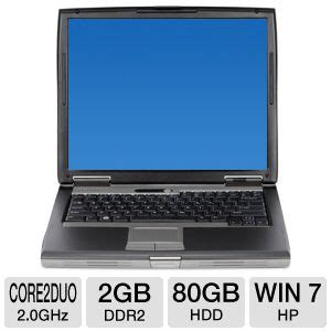 Laptop Dell Latitude D520 dell latitude d520 notebook pc intel 2 duo 2 0ghz 2gb ddr2 80gb hdd cd rw dvd rom