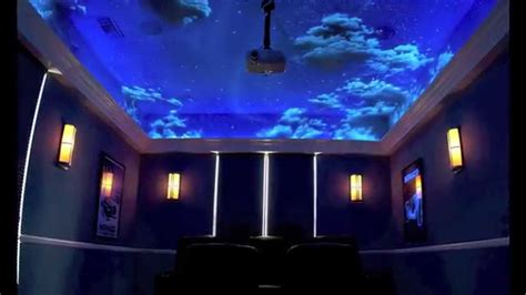 Glow In The Dark Wall Stickers Stars sky murals clouds and ceiling murals youtube