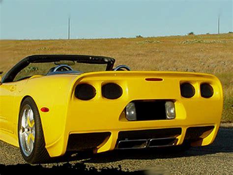 c5 corvette front bumper rksport chevrolet corvette rk5 rear bumper 1997 2004 04011000
