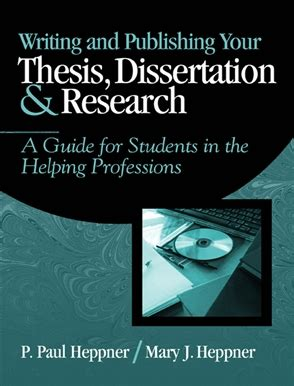 publishing a dissertation writing and publishing your thesis dissertation and