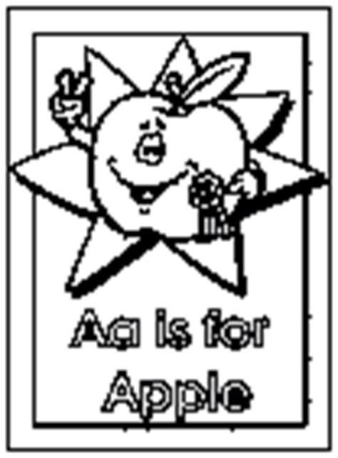 dltk coloring pages alphabet letter a coloring pages