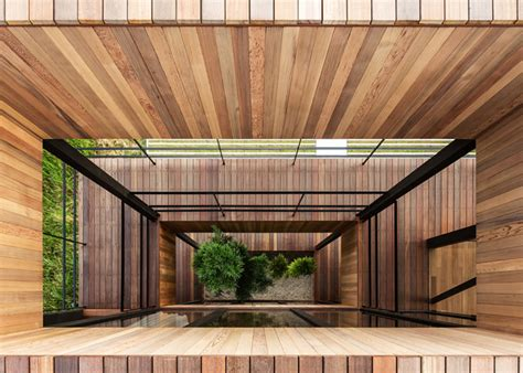 wood architecture wooden structure inhabitat sustainable design