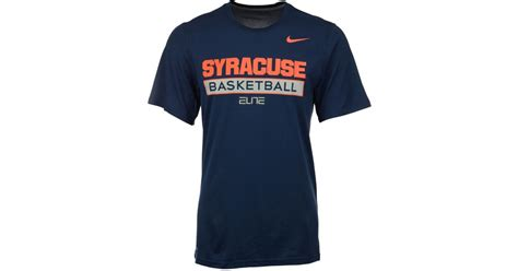 Orange Nike Elite T Shirt nike s syracuse orange elite basketball practice t