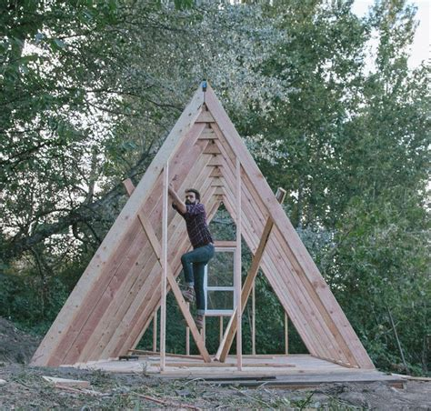 small a frame cabins 25 best ideas about triangle house on pinterest