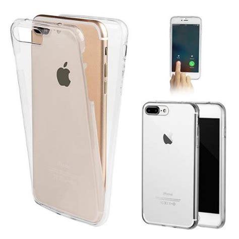 coque silicone gel integral iphone 7 plus apple transparent pas cher